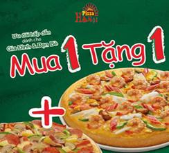 ảnh khuyến mại Pizza Hà Nội
