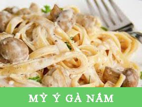 MỲ Ý GÀ NẤM Pizza Hà Nội