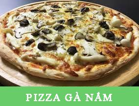 PIZZA GÀ NẤM Pizza Hà Nội