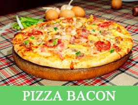 PIZZA BACON- thực đơn